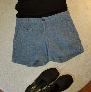 Banana Republic chambray shorts.
